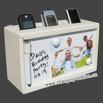 Recharging Organizer Mobile Phone Charging Station Valet
