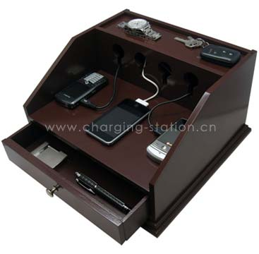 Charging Station Recharging Valets Cellphone Organizer